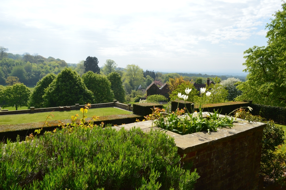 The beautiful house and grounds at Chartwell