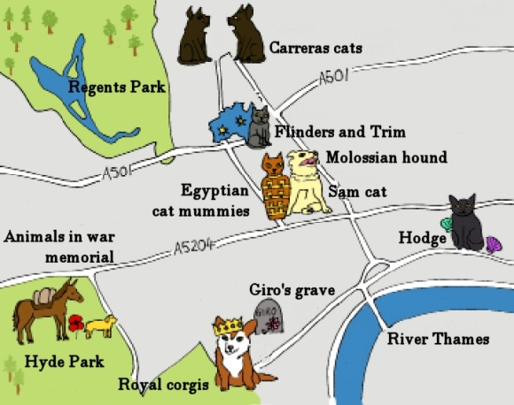 A London pet trail