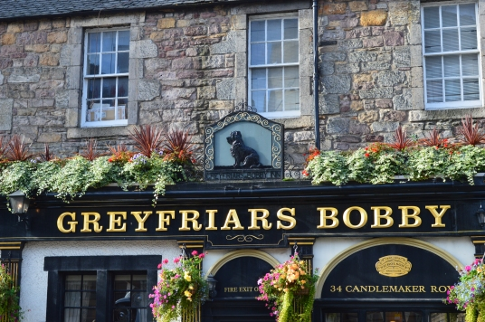 Greyfriars Bobby pub (Photo: Jackie Buckle)